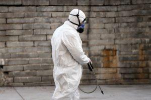 concrete disinfecting coronavirus