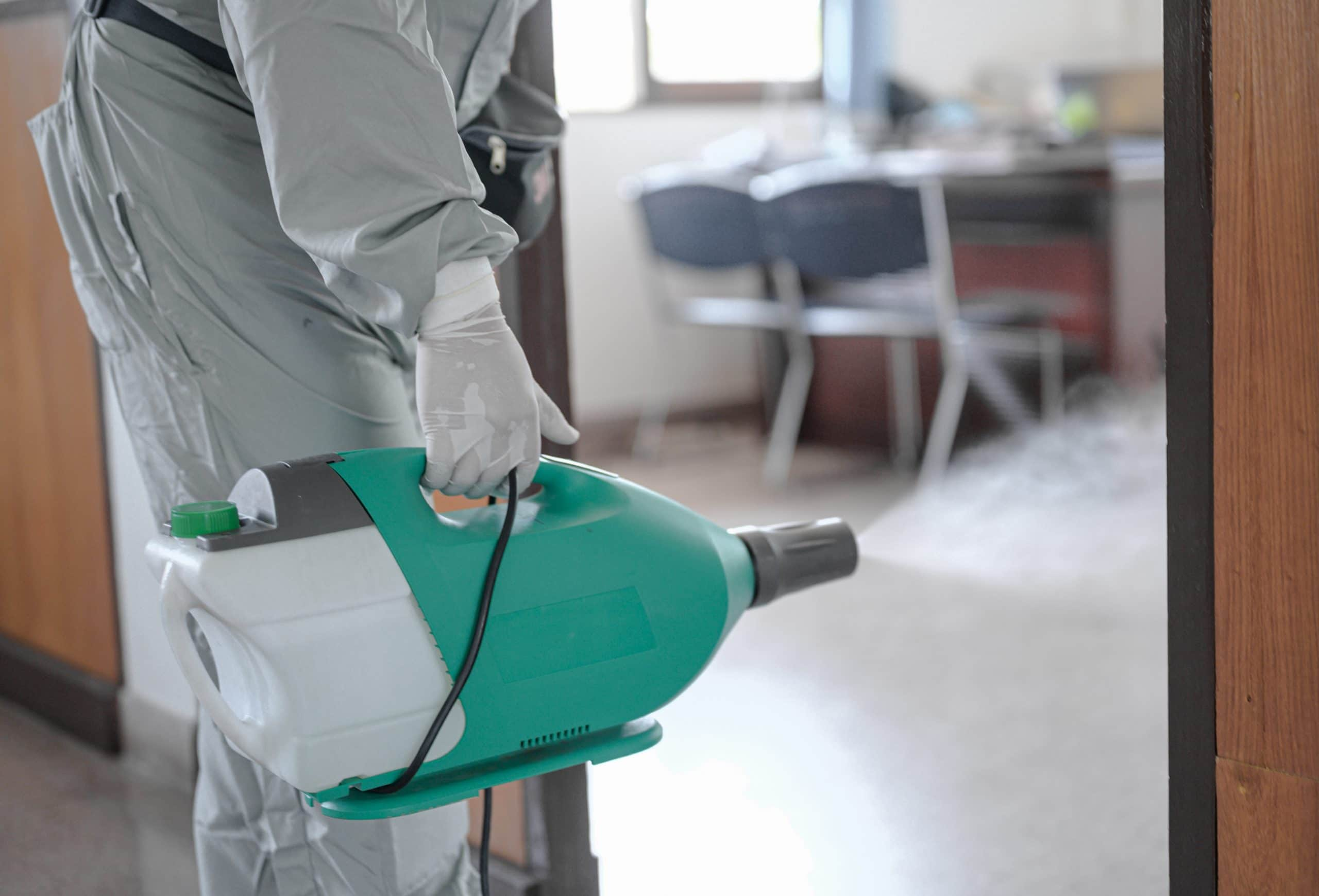 Disinfection and Sanitizing Services in Canyon Country CA